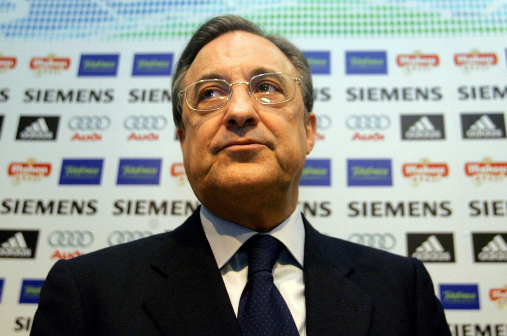 """Football: Real will sign """"brilliant"""" players, says President Perez"""
