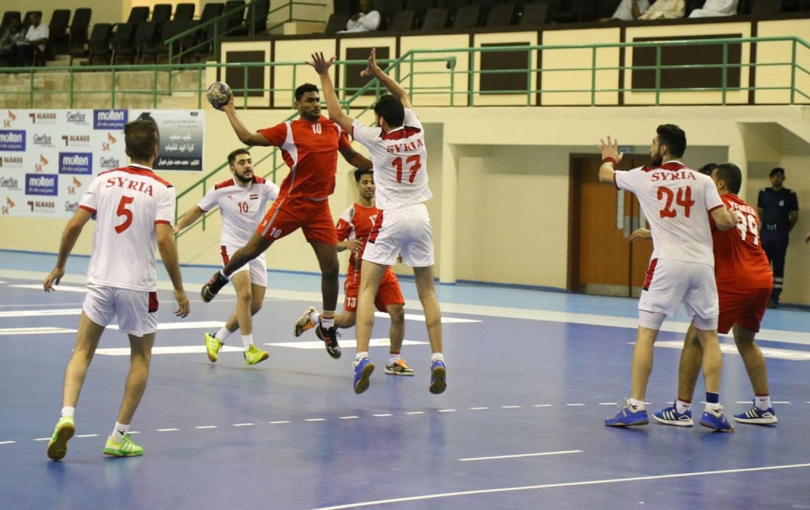 تواصل الأثارة في منافسات البطولة الآسيوية الـ16 للشباب لكرة اليد