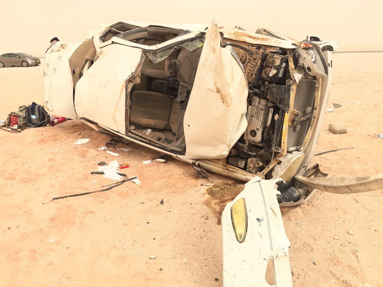 وفاة في تدهور مركبة و3 إصابات.. والشرطة توضح