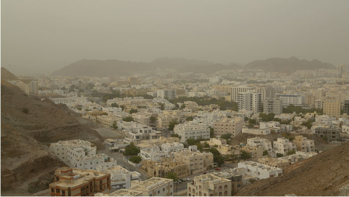 'Dusty conditions in Oman to clear up in three days'