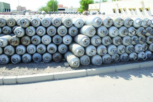 إلغاء آلاف اسطوانات الغاز المسال لعدم صلاحيتها للاستخدام