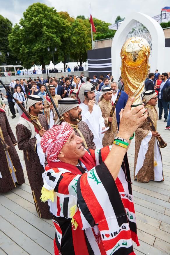 بالصور.. افتتاح مجلس قطر بموسكو قبل أيام من انطلاق استضافة قطر الرسمية لمونديال ٢٠٢٢