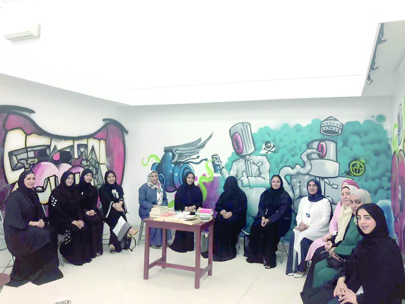 تنظيم قراءة حول الفنون التشكيلية بمقر الجمعية