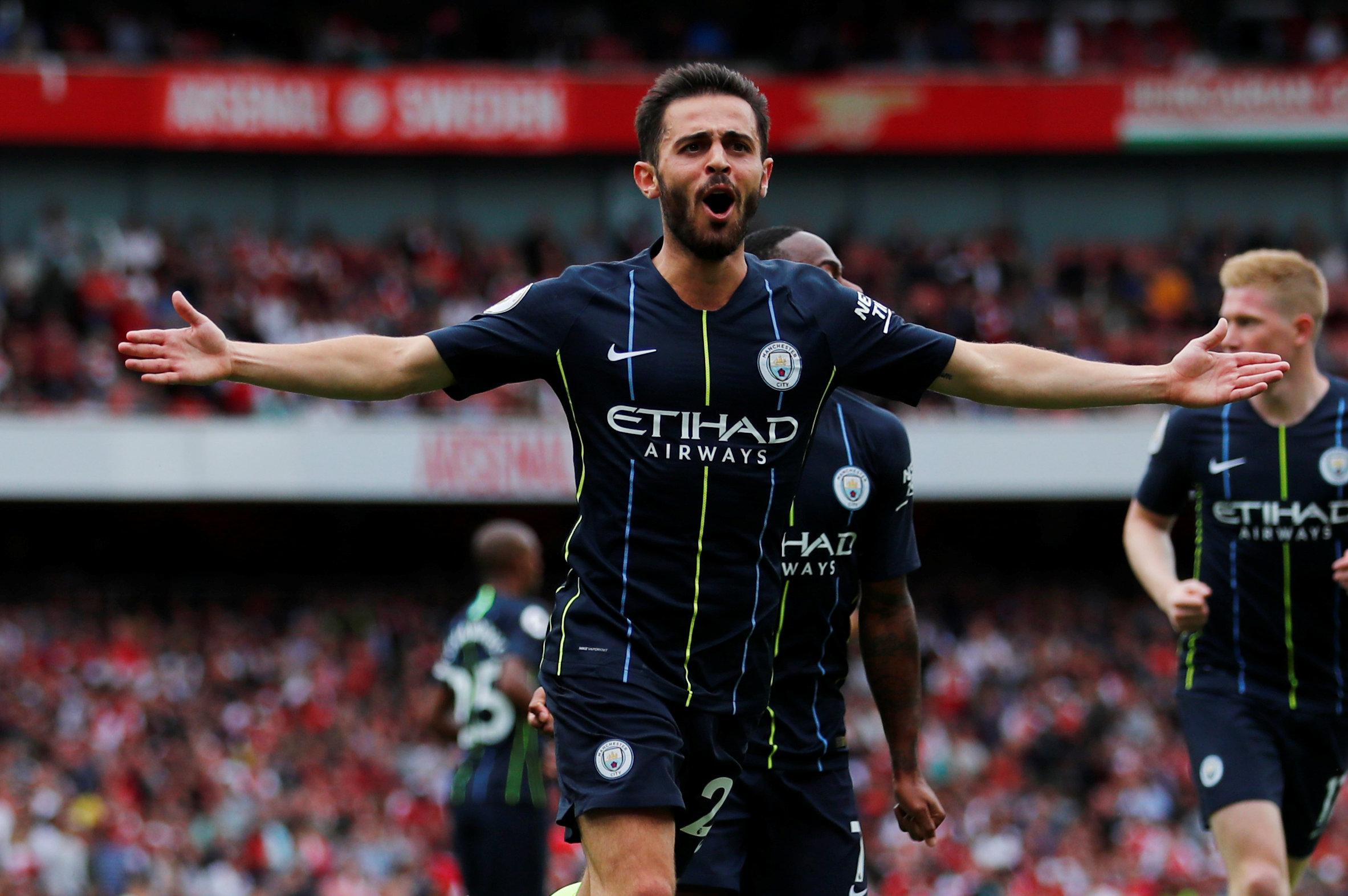 Football: Champions City are impressive winners at Arsenal