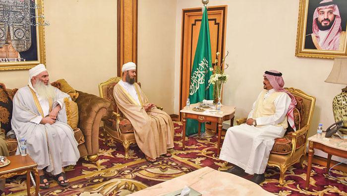 Saudi minister meets Oman Haj mission chief