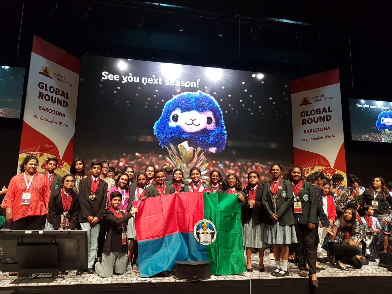 Indian School Al Ghubra students win 27 gold medals at global forum