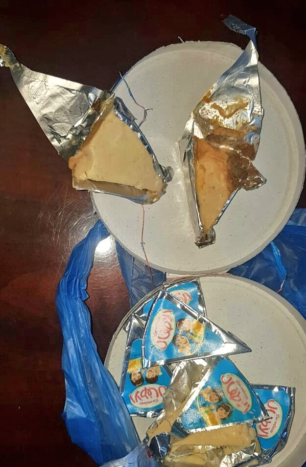350 packs of cheese destroyed in Oman