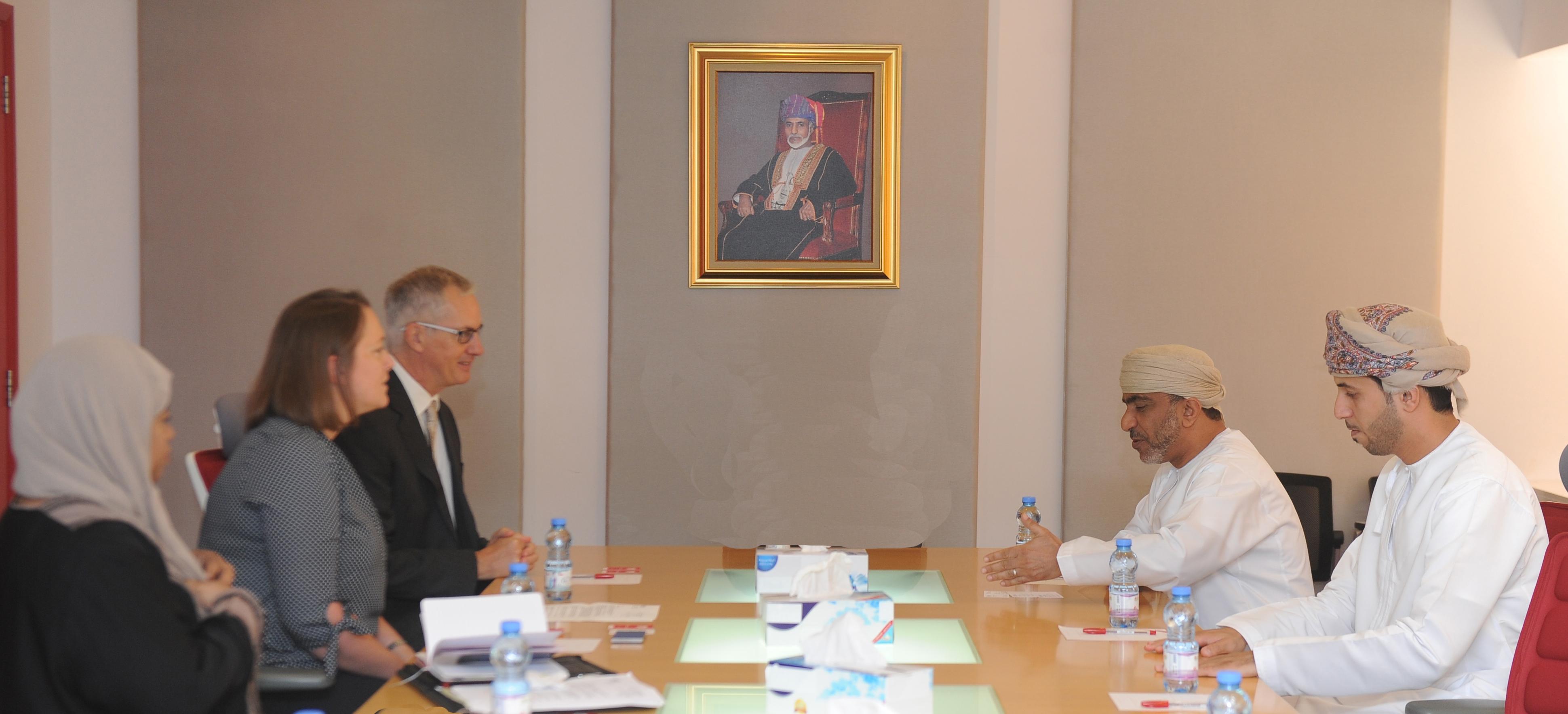 الوهيبي يلتقي مدير عام المجلس الثقافي البريطاني
