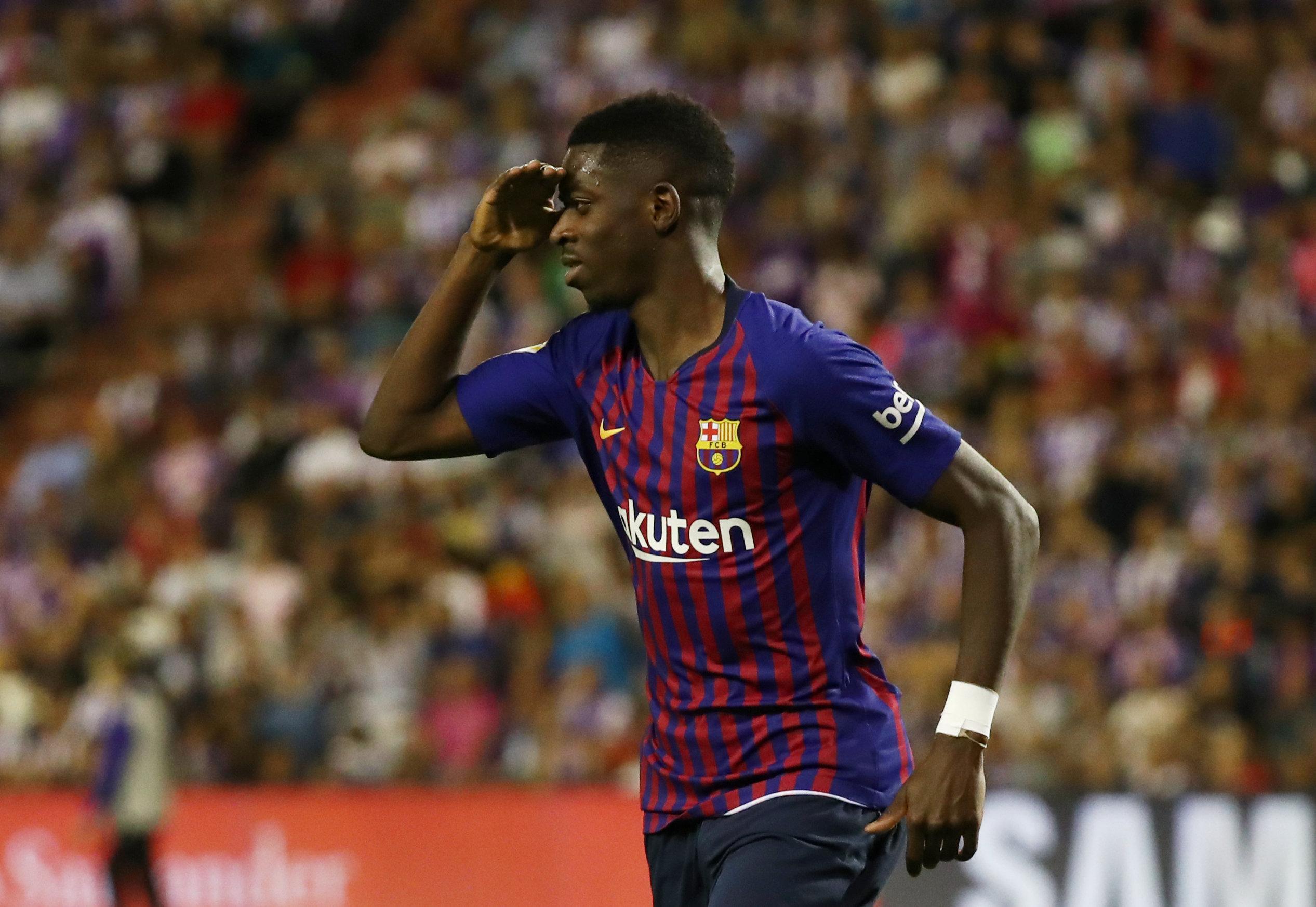 Football: Unconvincing Barcelona scrape past Valladolid
