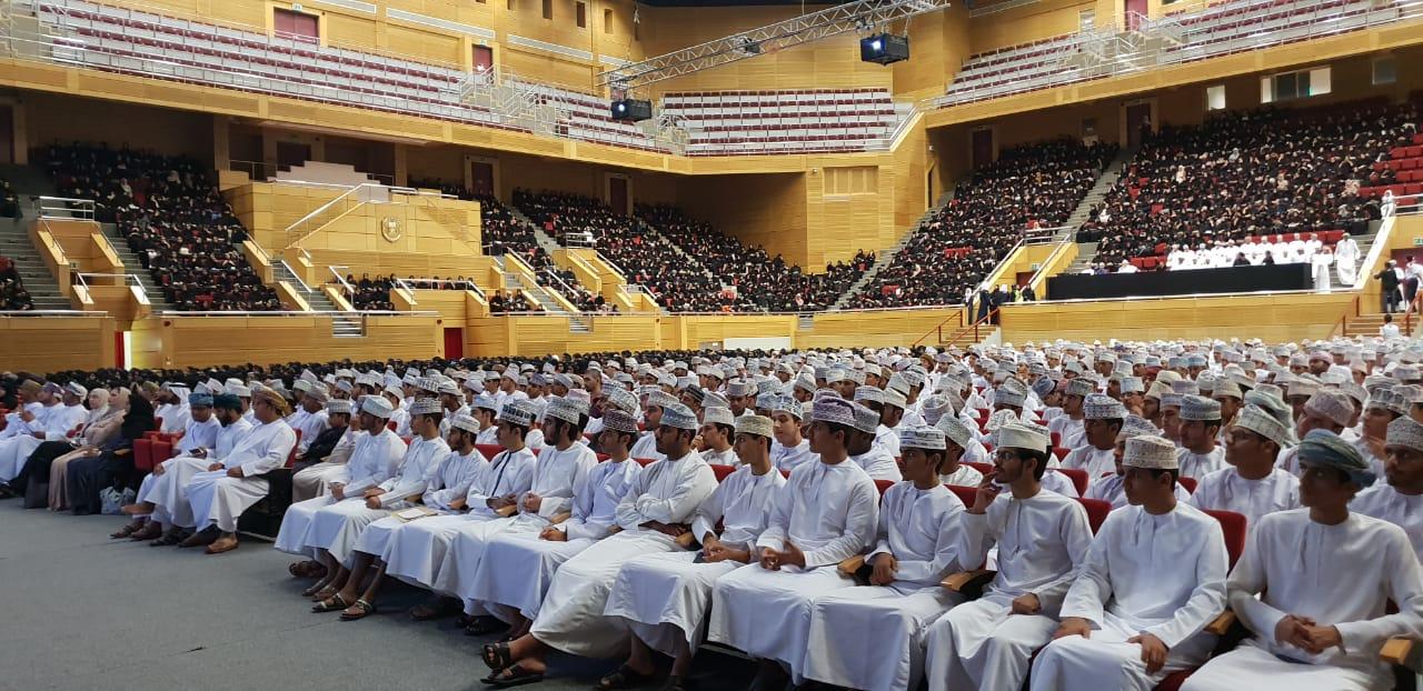 جامعة السلطان قابوس تستقبل 3 آلاف من طلابها الجدد
