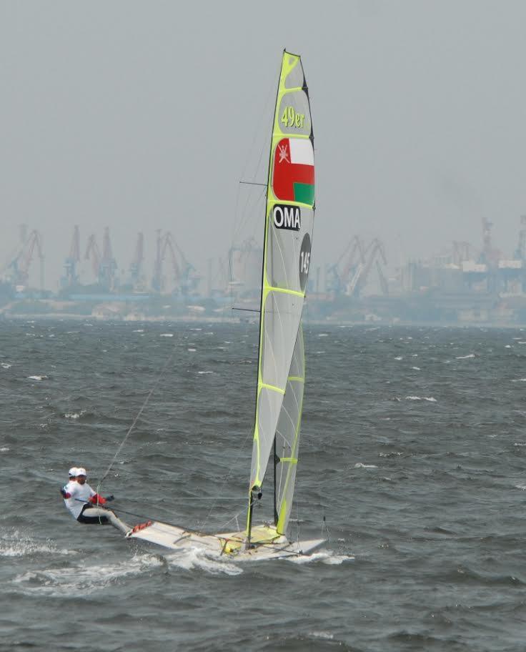 منتخبنا للإبحار الشراعي ينافس على المراكز الأولى في دورة الألعاب الآسيوية
