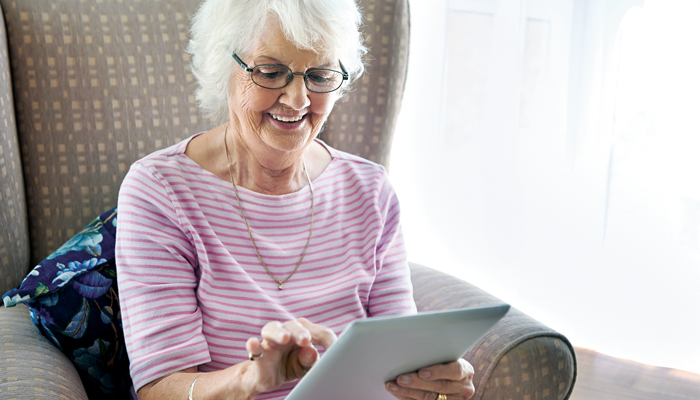 New technology promotes healthy ageing at home