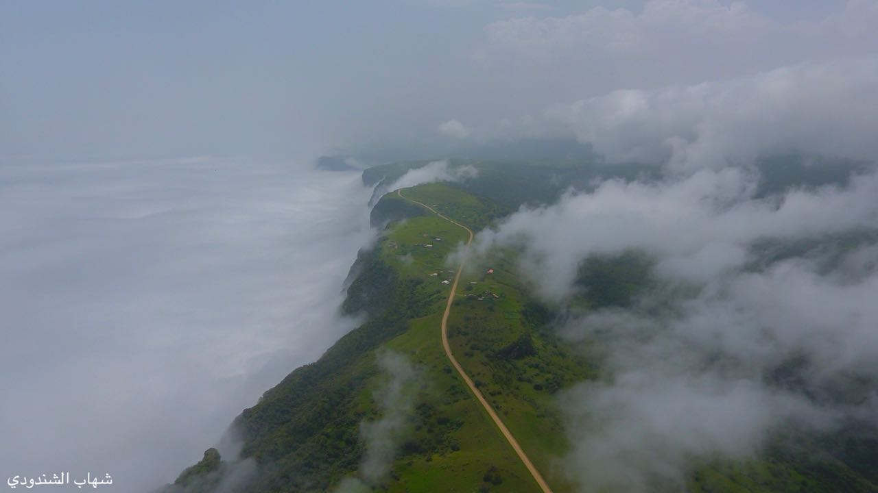 In pictures: Mist covered green valleys of Salalah