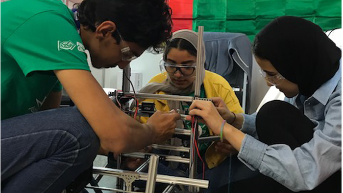 A learning experience for Oman students at Mexico robotics competition