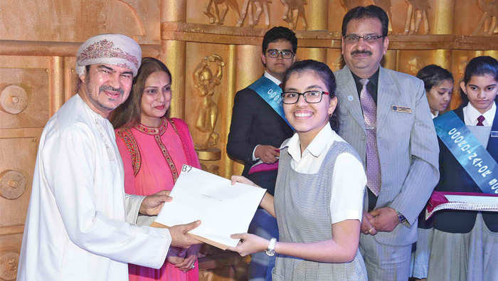 Indian School  Muscat honours academic achievers