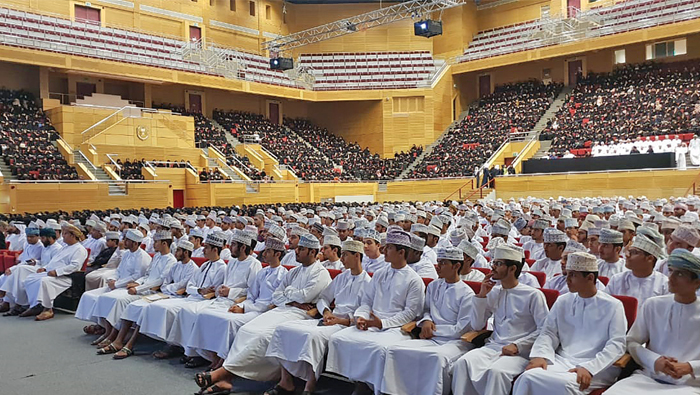 Orientation begins for 3,000 students of new SQU's 33rd batch