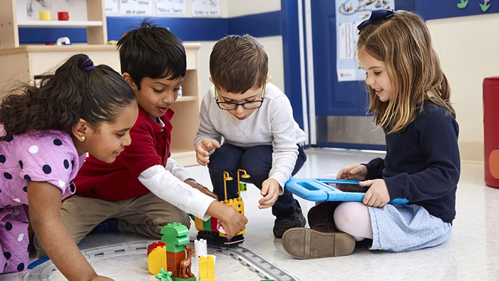 Play and learn help in building young minds