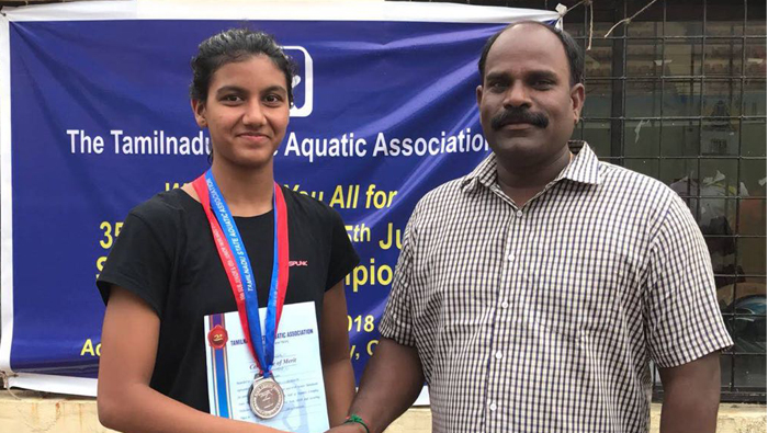 Expat swimmer qualifies for all Indian tournament