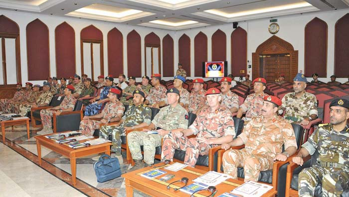Seminar organised on joint Omani-British military drill