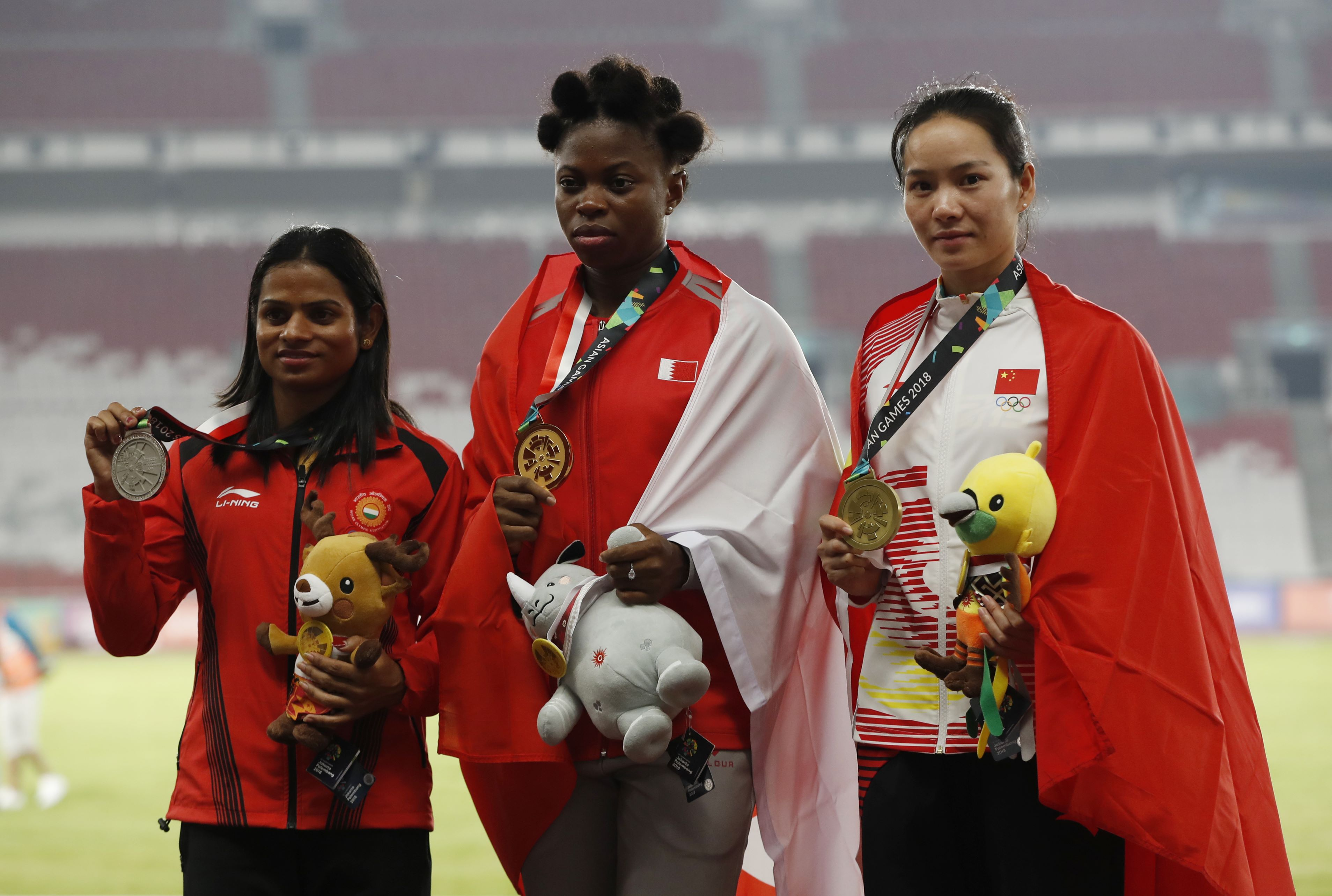 Athletics: Bahrain's Odiong completes women's sprint double in Jakarta