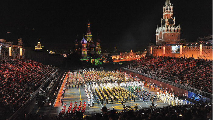 RGO Musical Band in Russian military music fest