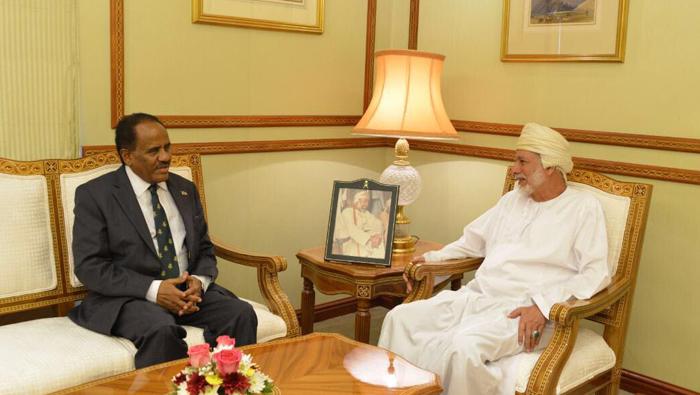 Alawi meets ambassador of Ethiopia