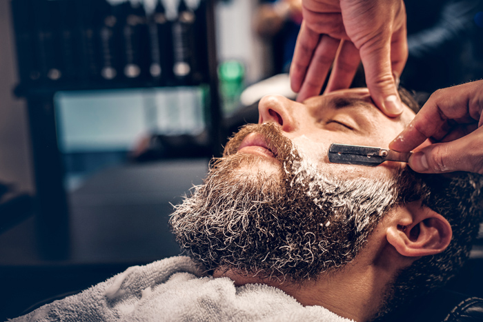 Men's grooming is a serious business