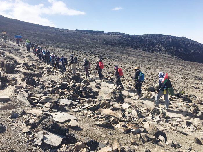 Climbing Mt. Kilimanjaro to help fight cancer