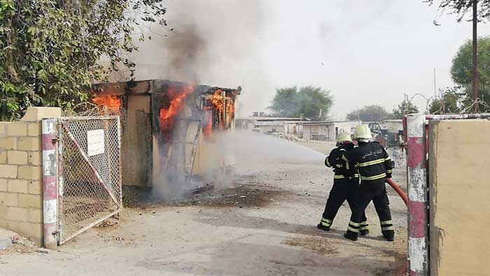 Fire breaks out at workers' accommodation in Oman
