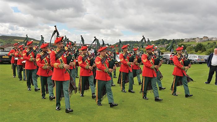 Royal Army of Oman music band excels in Scotland competitions