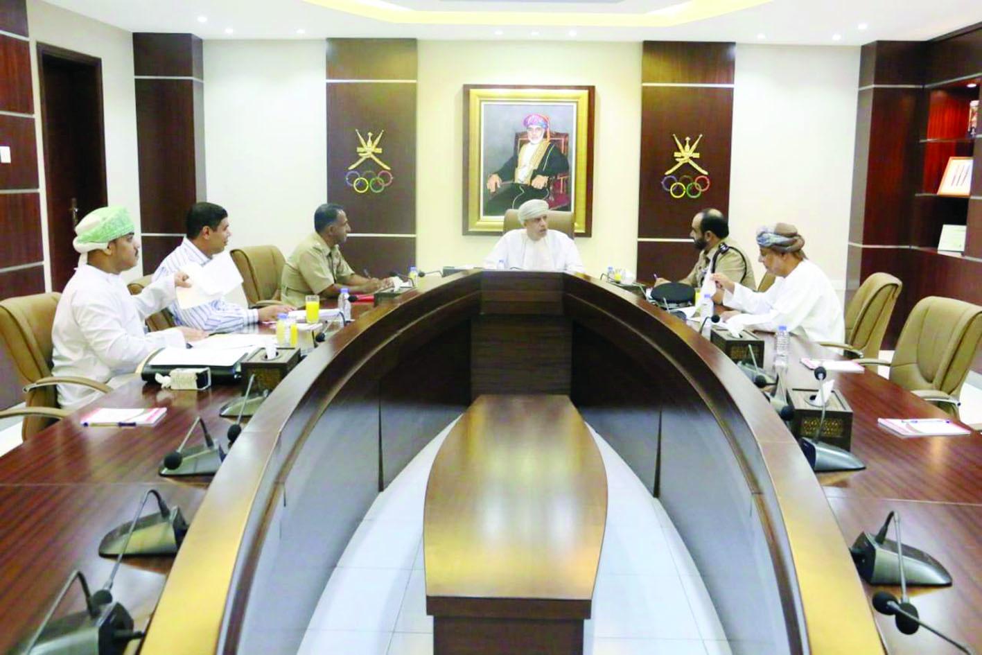 لجنة البطولة العربية للدراجات الجبلية تناقش استعداداتها