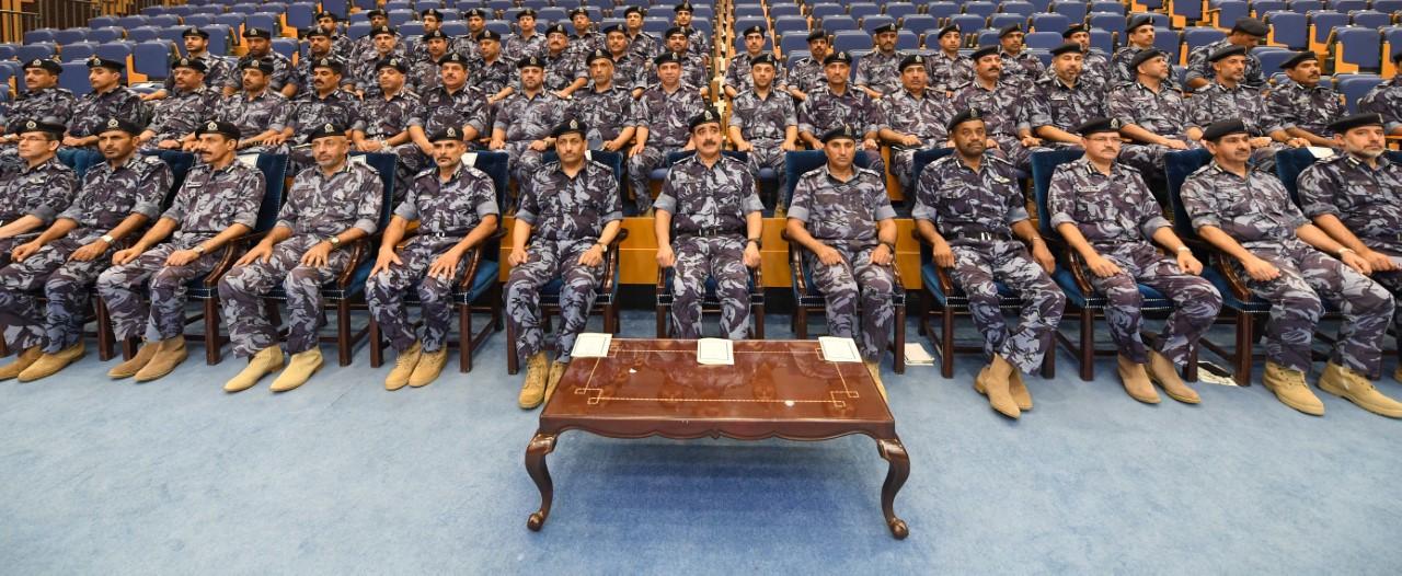 الشرطة تنظم يومًا دراسيًا استعدادًا لتمريني الشموخ2 والسيف السريع3