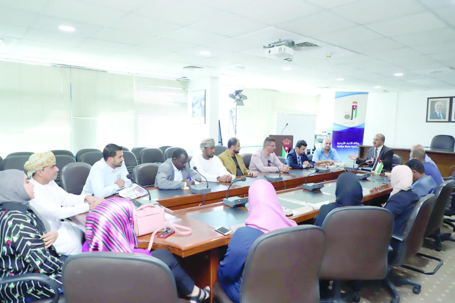 اختتام دورة الإعلام المجتمعي باتحاد وكالات الأنباء العربية بالأردن