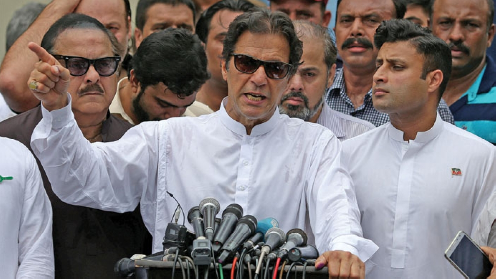 Pakistani PM disappointed with India for cancelling talks