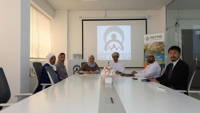 Donation for Dar Al Atta'a programme for schoolkids