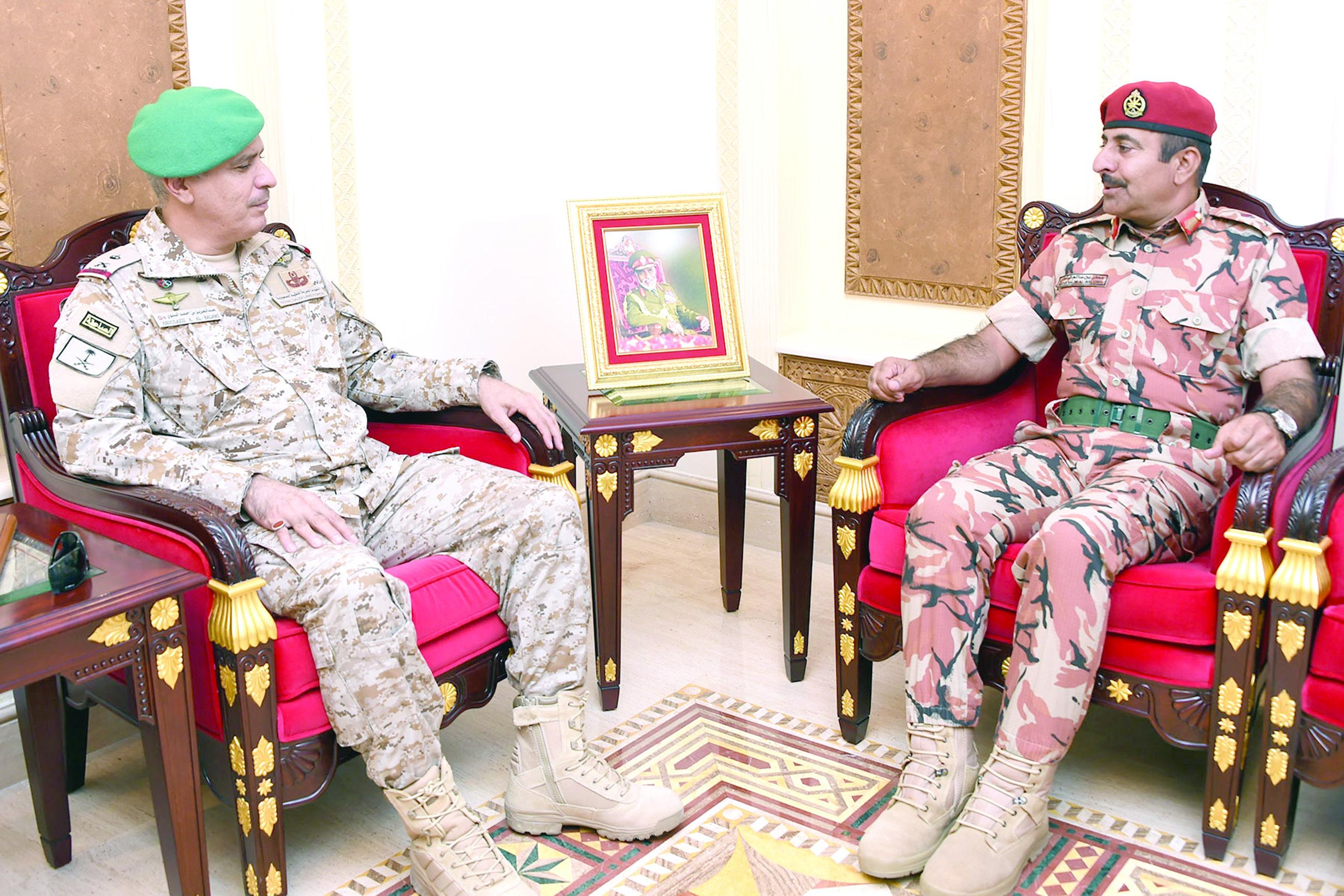 البلوشي يستقبل قائد قوات درع الجزيـرة المشتركـة