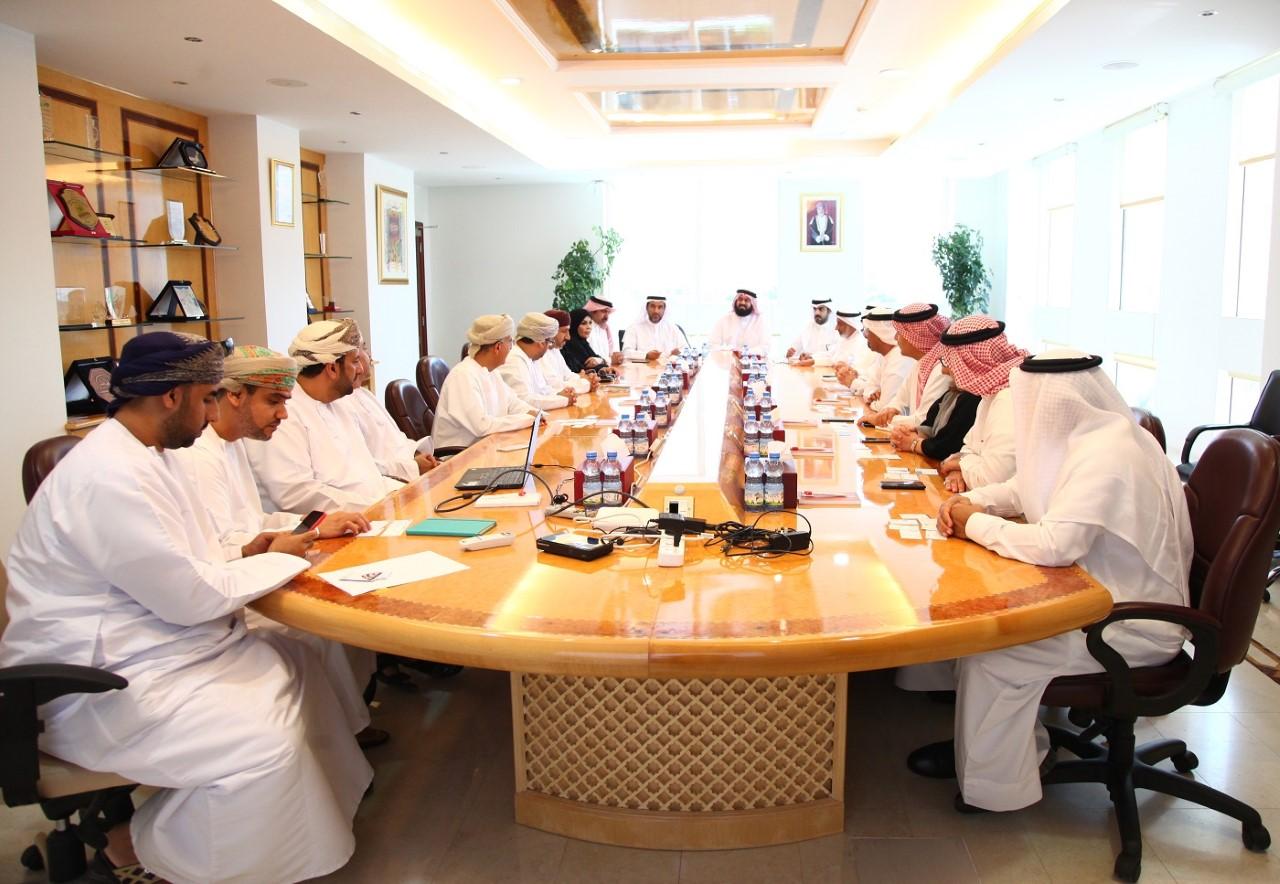 وفد من غرفة تجارة وصناعة البحرين يطلع على تجربة المؤسسة العامة للمناطق الصناعية
