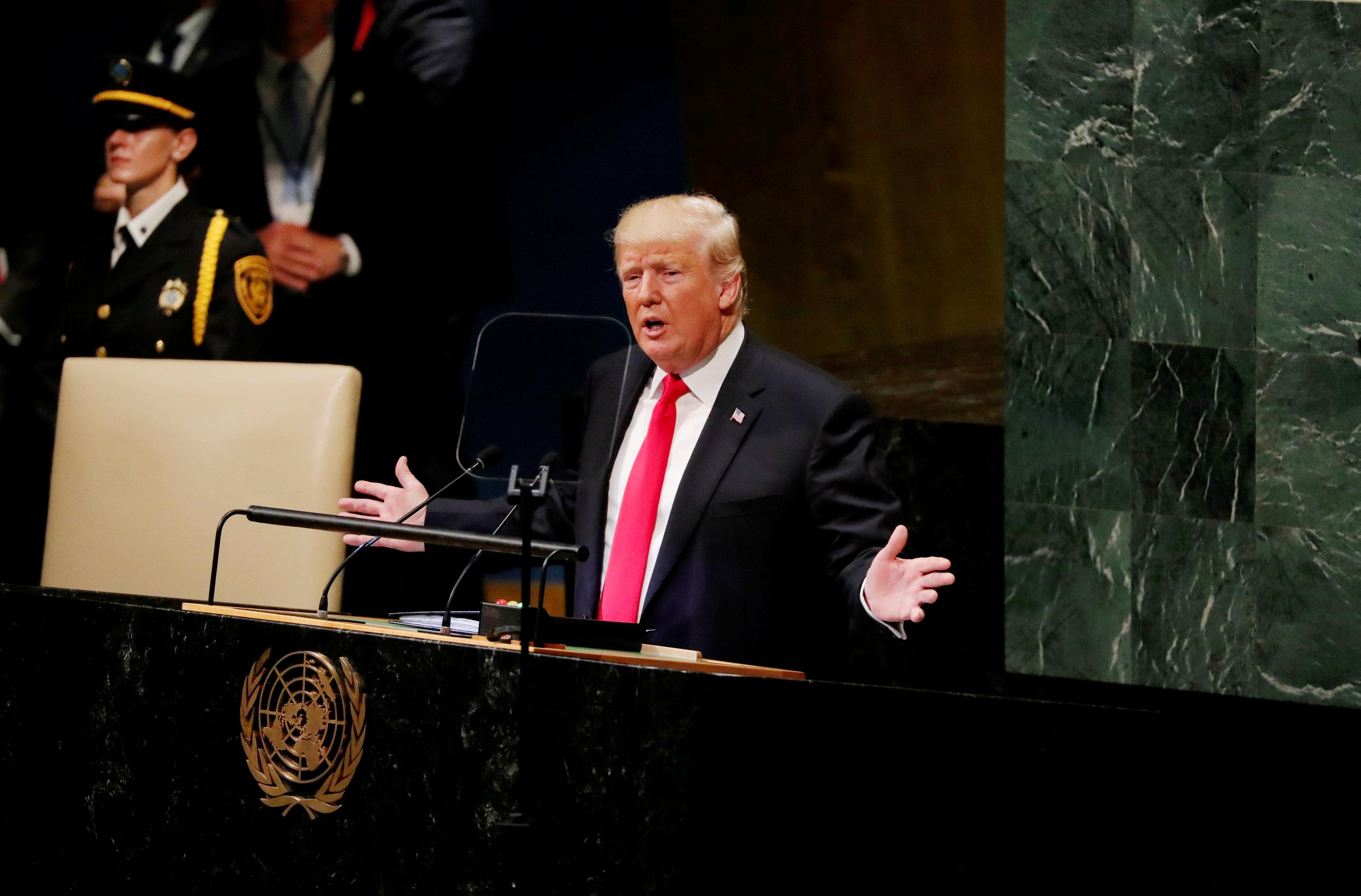 أعنفها اليوم بالأمم المتحدة... هذه أهم قذائف ترامب باتجاه أوبك