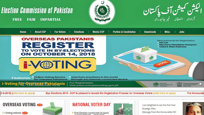 Expatriate Pakistani citizens can now vote through i-voting website