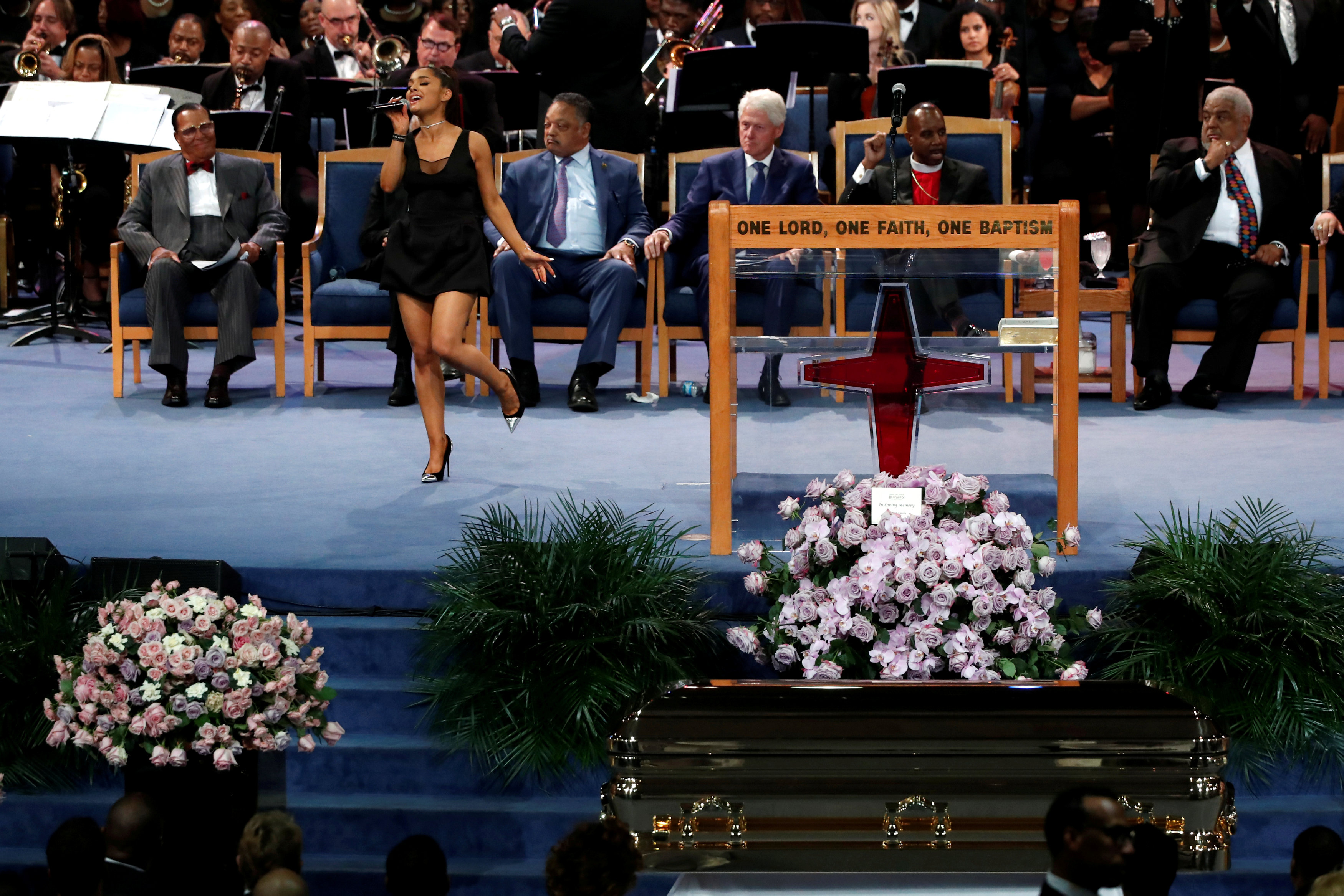 """Aretha Franklin's eulogy was """"offensive and distasteful,"""" family says"""