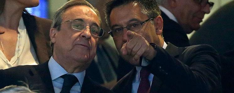 رئيس ريال مدريد يلجأ إلى غريمه التقليدي لتأسيس فريقه الجديد