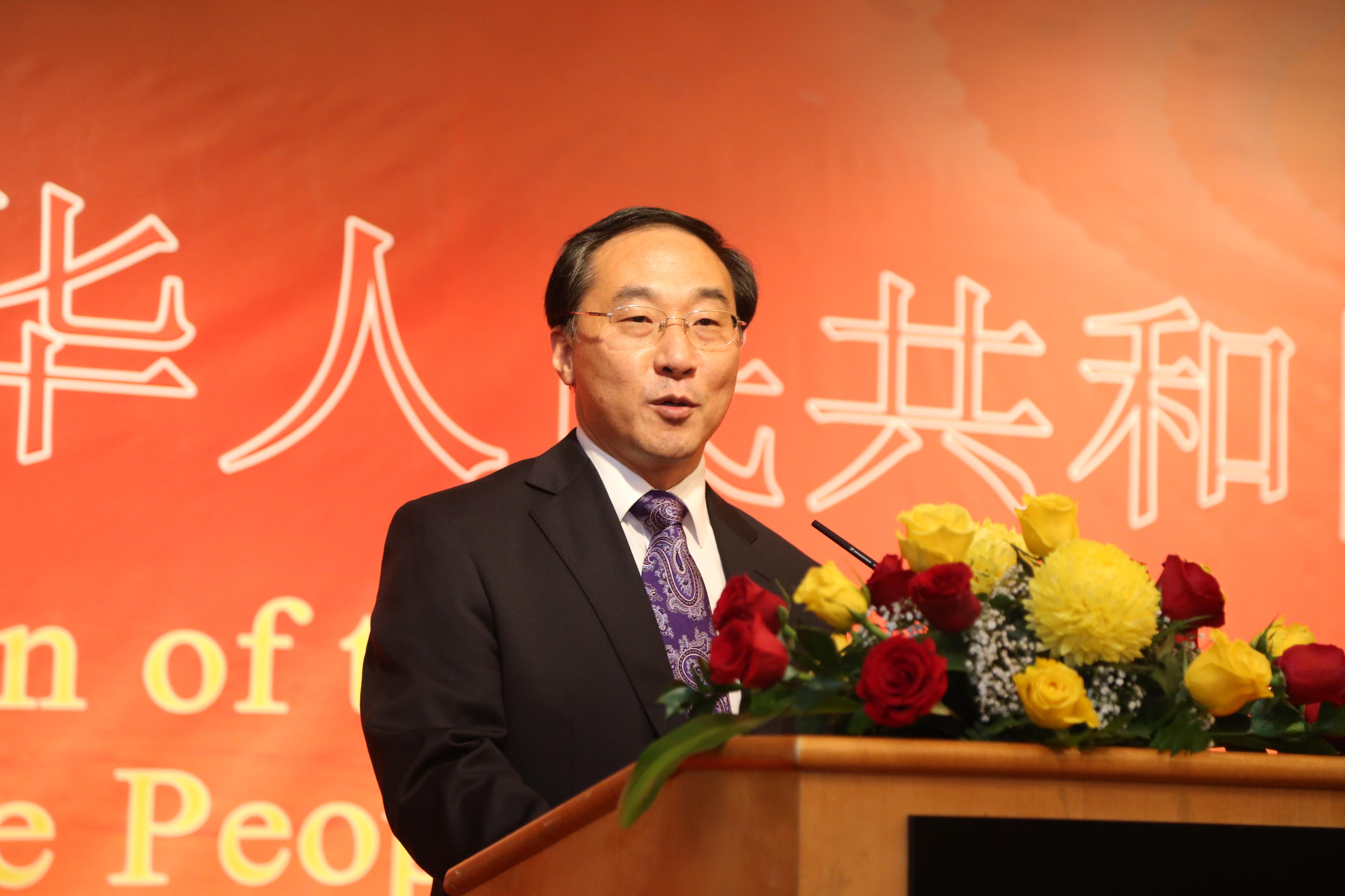 بالصور.. سفارة الصين تحتفل باليوم الوطني الـ 69 لبلادها