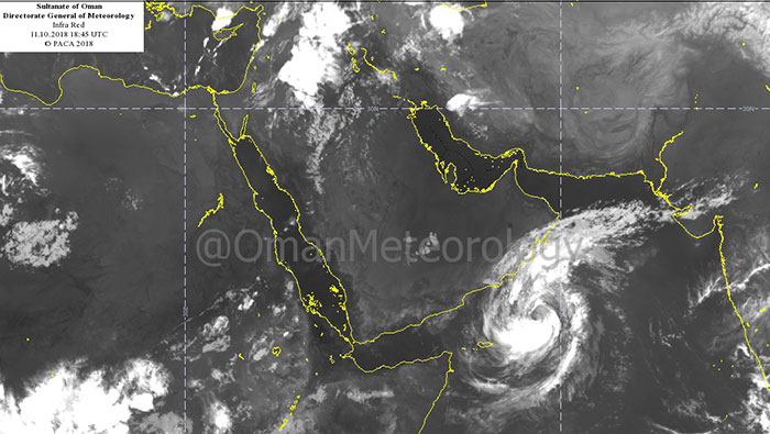 Cyclone Luban: PACA issues second official notice as storm moves closer to Oman