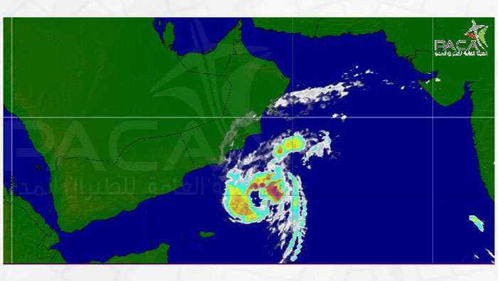 Cyclone Luban downgraded to 'Tropical Storm'