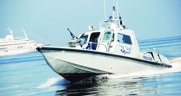 شرطة خفر السواحل تستجيب لنداء سفينتين
