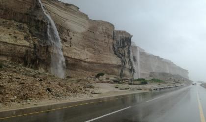 أمطار متفاوتة الغزارة في سدح وشليم وجزر الحلانيات