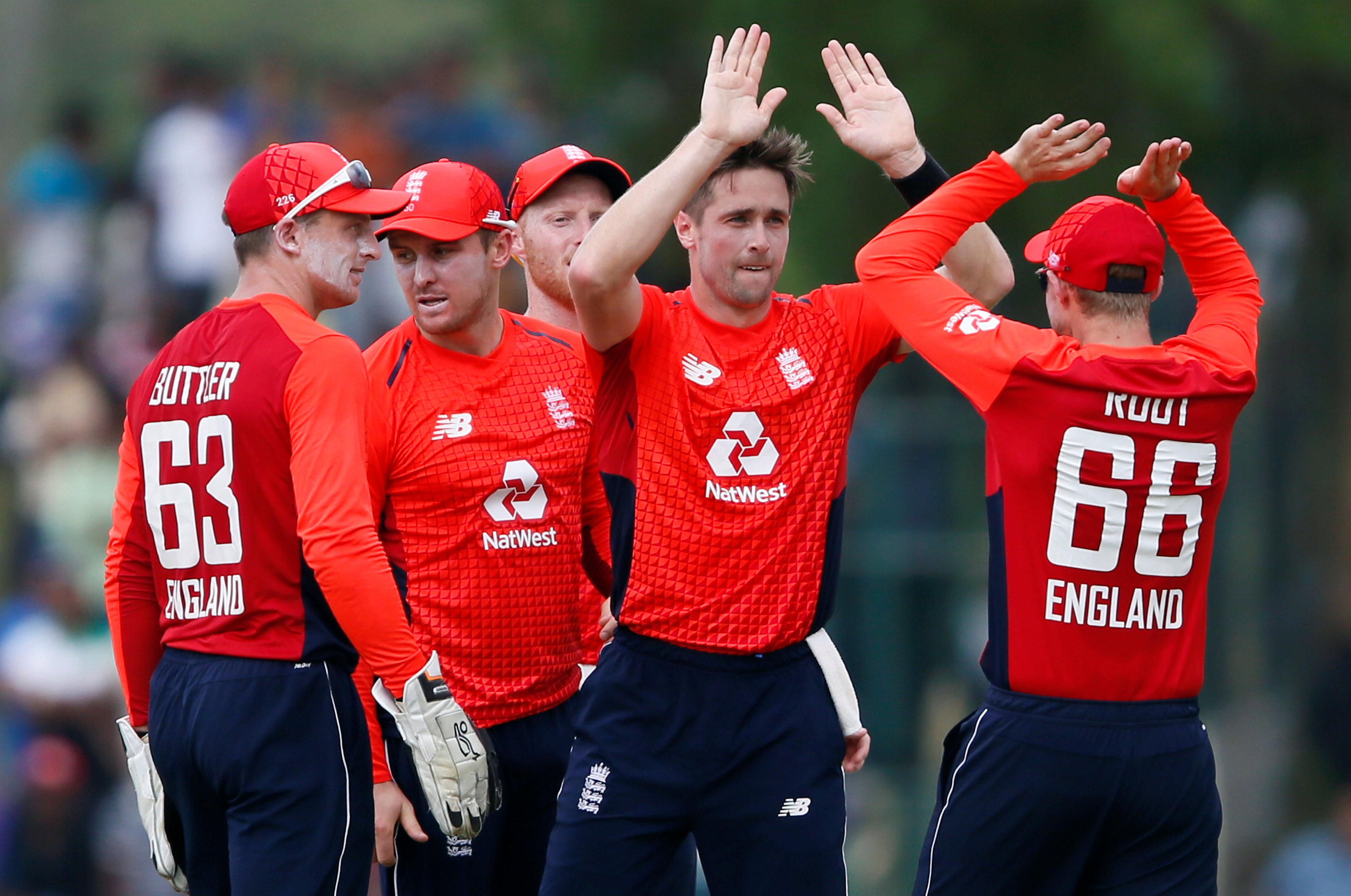 Cricket: England's Woakes sinks Sri Lanka in rain-marred ODI