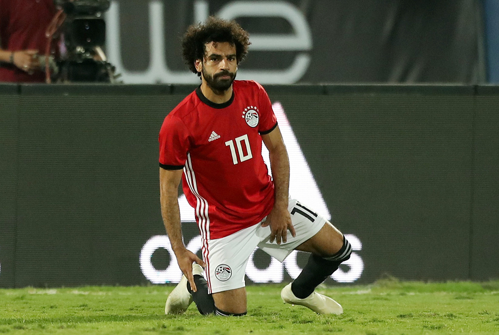 Football: Cameroon get first win for Seedorf, Salah injured in Egypt victory