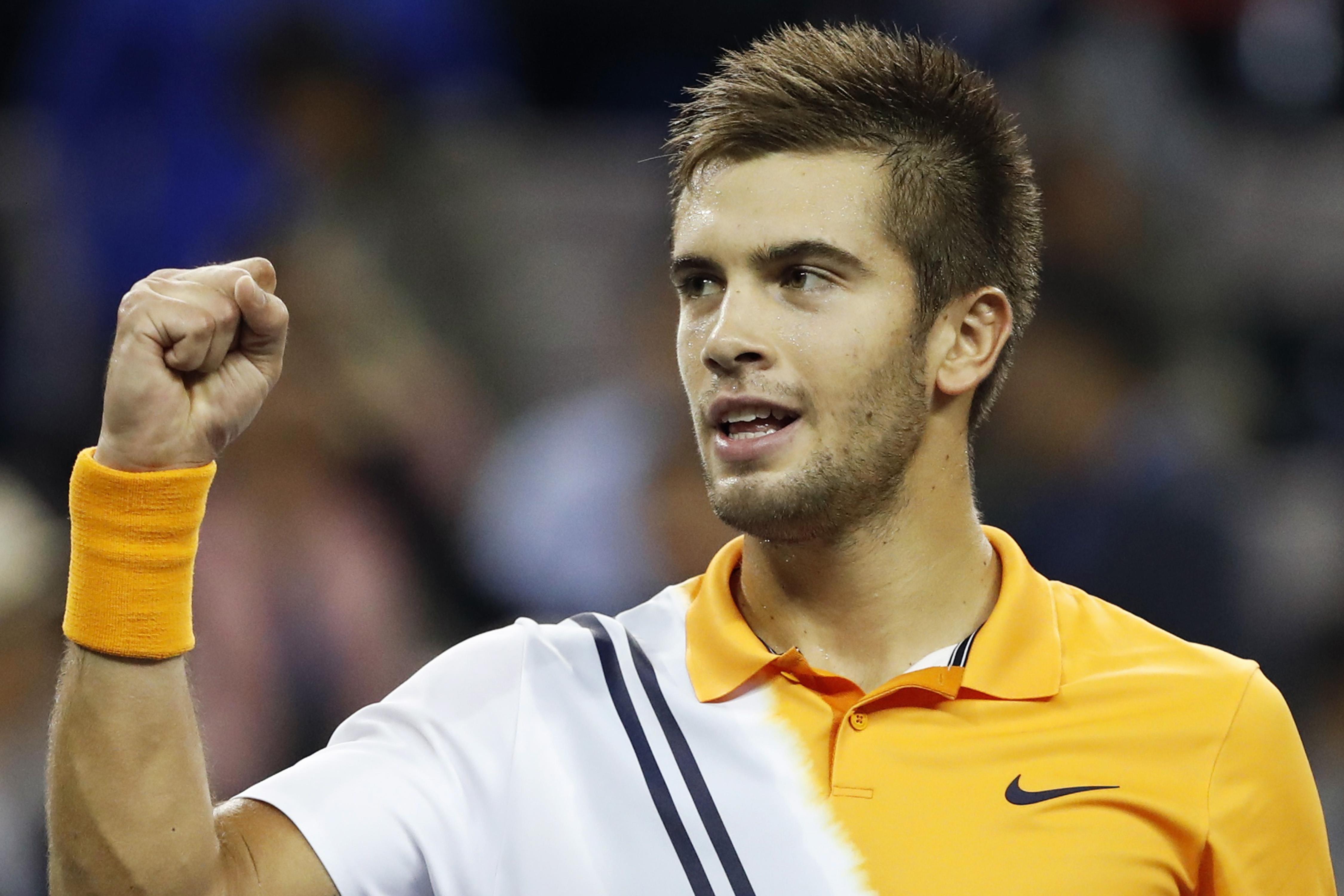 Tennis: Coric stuns Federer in Shanghai, faces Djokovic in final