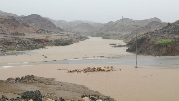 Luban: More than 200 mm of rainfall recorded in Dhofar in 24 hours